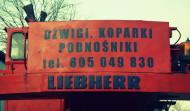 dźwig LIEBHERR 25 t.